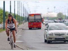 казань велосипедист веломаршрут
