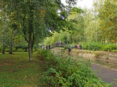 Парк Урицкого. г.Казань