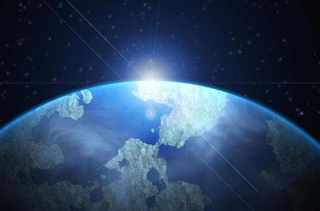 МКС сняла старт «летающей тарелки» сЗемли