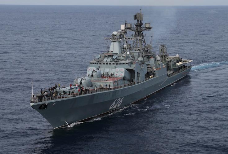 ВЮжно-Китайском море состоятся общие учения Российской Федерации и Китайская республика